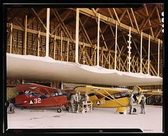 Civil Air Patrol Base, Bar Harbor, Maine. The hangar of Coastal Patrol #20  (LOC)