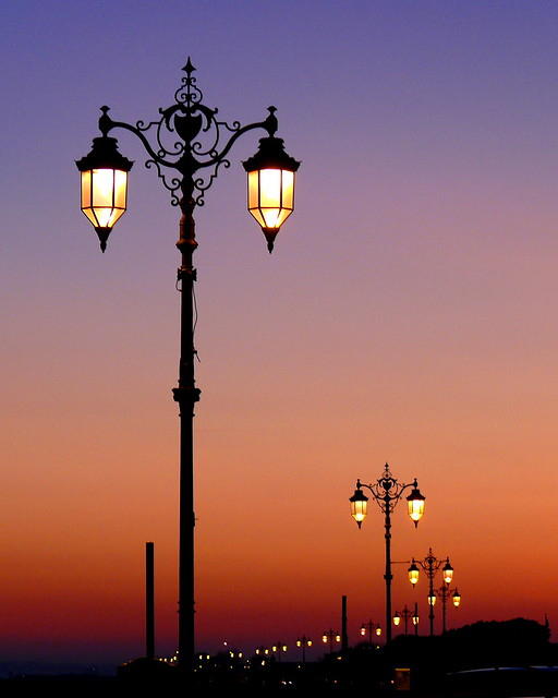 photos lights sunset lamps lamp on a southsea z flickr gallery street galleries at