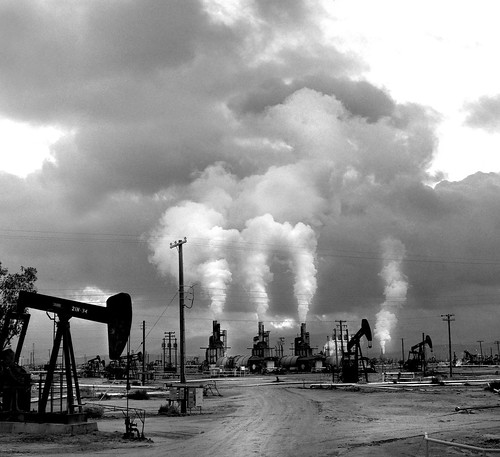 Petroleum Landscape,  California