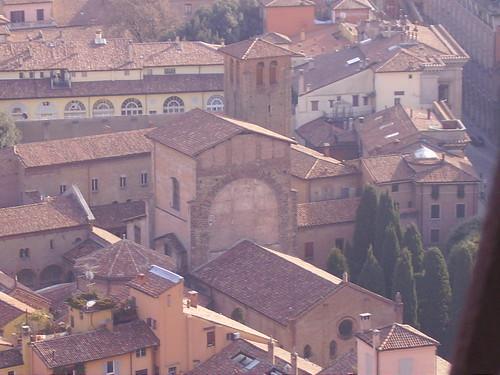 Bologna - Panorama dalla Torre degli Asinelli by lpelo2000