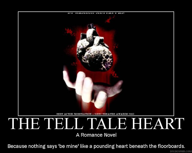 tell tale heart and the lotter After you read the letter, tell me - do you think it's a winning ticket should they pay me posted 12/10/12 click here to read my letter-----.