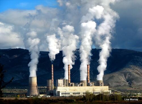 Electricity power plant, Kozani, Greece