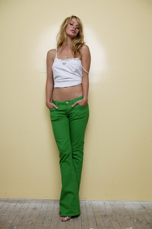 Green jeans 1