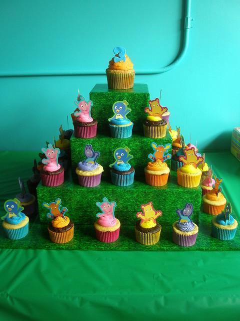 Backyardigan Cupcakes