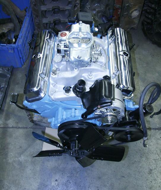 Rebuilt Pontiac 400 Engine Flickr Photo Sharing