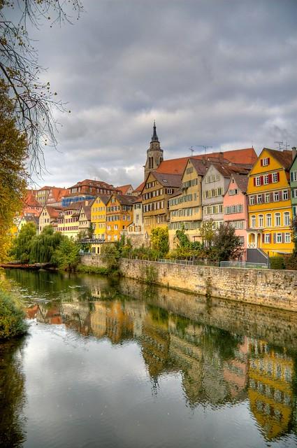Tübinger Neckarfront HDR