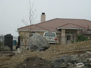 Feng Shui gone wrong!   Devore CA, mudflow Christmas Day 2003