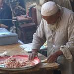 Xinjiang Food: Stuffing Somsas - Kashgar, China