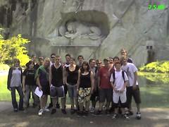 Löwendenkmal Mittwoch