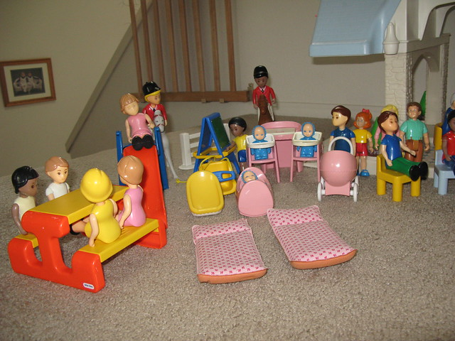Little Tikes Tykes Doll House Furniture People And Horses Flickr Photo Sharing