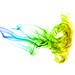 Vivid abstract smoke forming jellyfish by Benko Zsolt