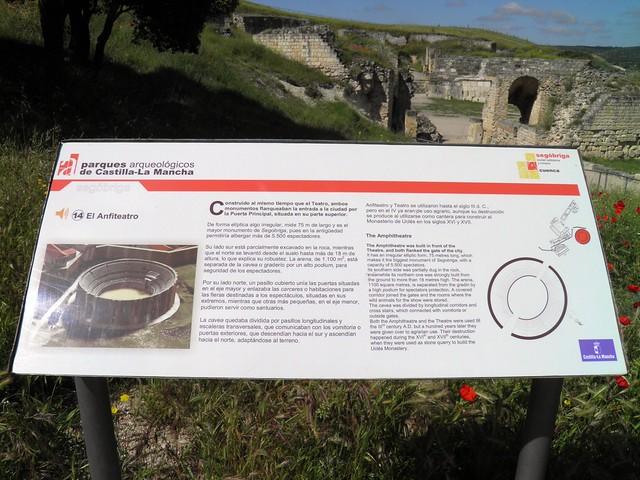 The Amphitheatre (panel), Parque Arqueológico de Segóbriga