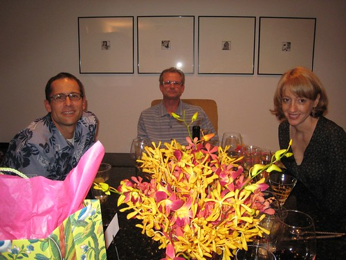 party, orchids, fuchsia, yellow IMG_0038