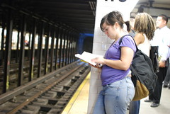 Waiting at 110th Street station