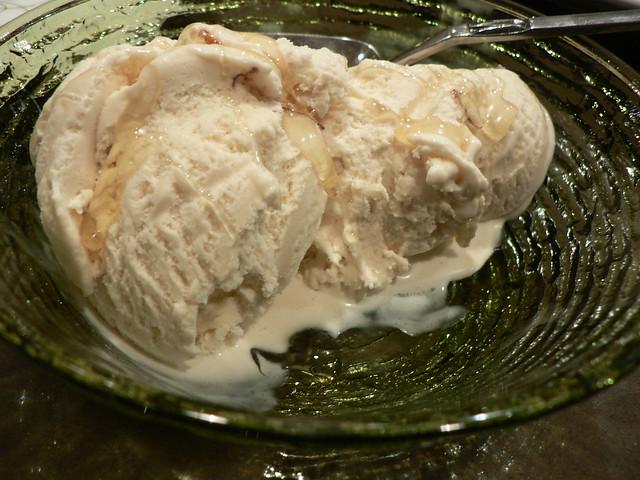 halva ice cream with honey | Flickr - Photo Sharing!