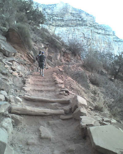 Up the Bright Angel Trail