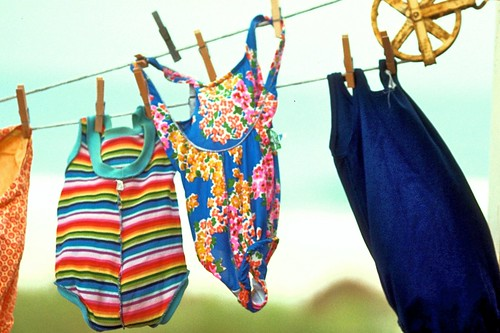 Robbins Rest - swimsuits on the line by Ed Yourdon
