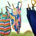 Robbins Rest - swimsuits on the line