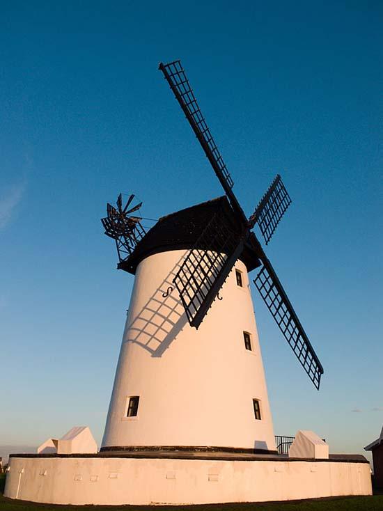 Photography - Lytham Windmill by Nicholas M Vivian