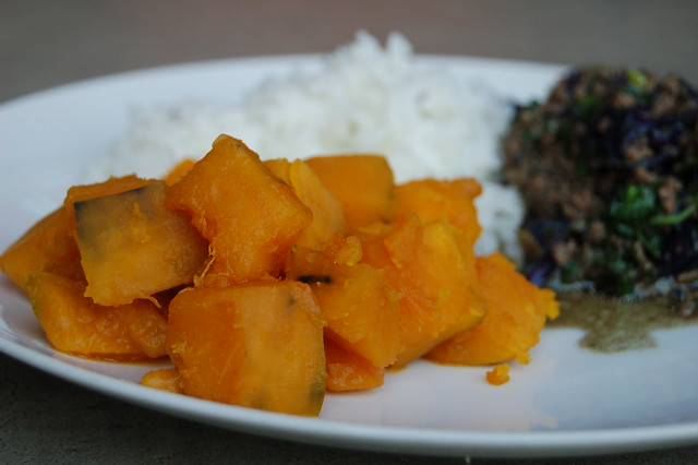Kabocha For Dinner