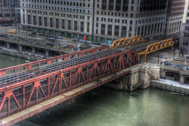 Wells Street Bridge: I