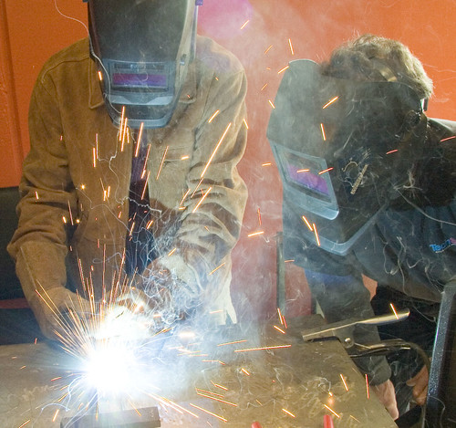 techshop_members_welding_project by TechShop, on Flickr
