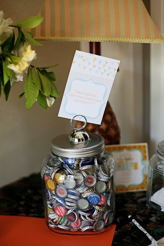 Baby shower for Baby bottle decoration ideas