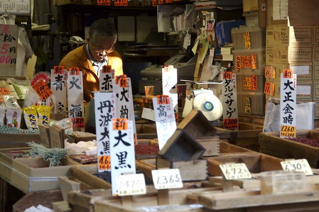 Outer Market - Tsukiji Fish Market, Tokyo