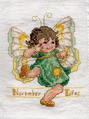November (Topaz) Fairy