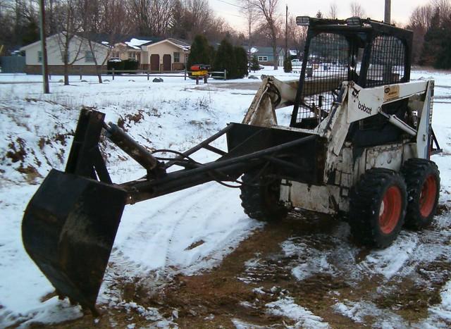 skid steer homemade skid steer. Black Bedroom Furniture Sets. Home Design Ideas