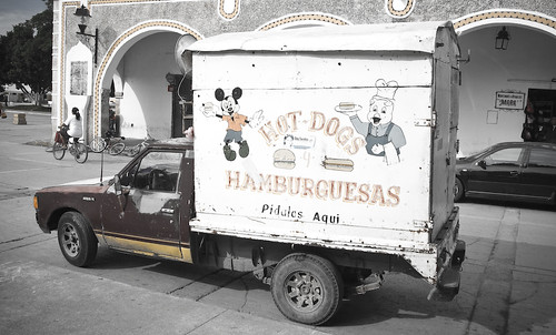 Izamal Delivery Truck