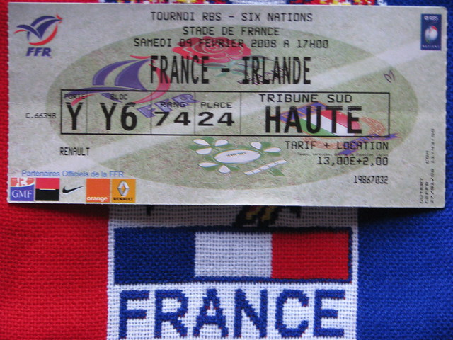 Billet France - Irlande | Flickr - Photo Sharing!