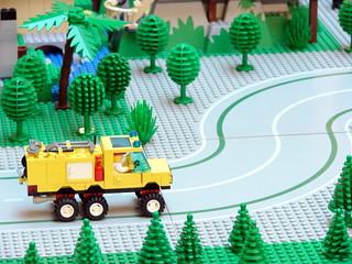 camião amarelo - yellow truck
