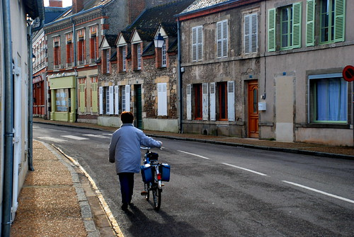 Quiet street in Saint Benoit