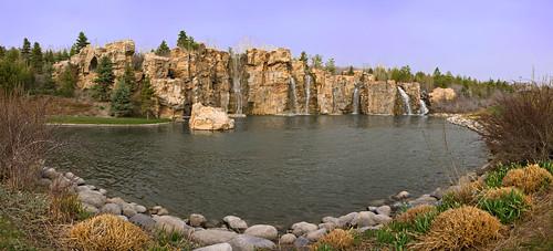autostitch pond pano panoramic waterfalls photowalk thanksgivingpoint photowalkingutah absolutelystunningscapes