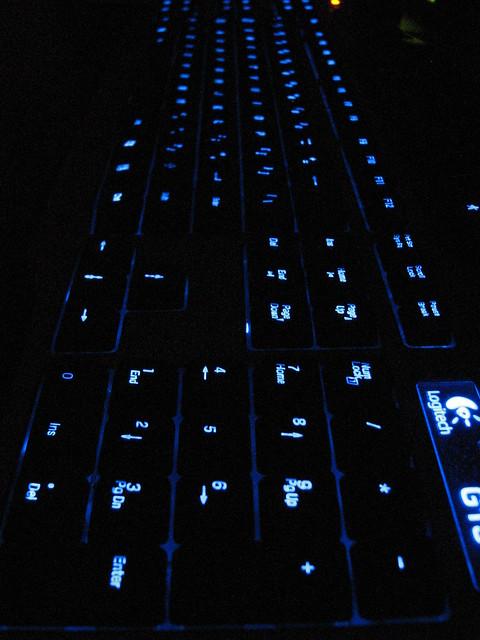 Dark Blue Gaming Room