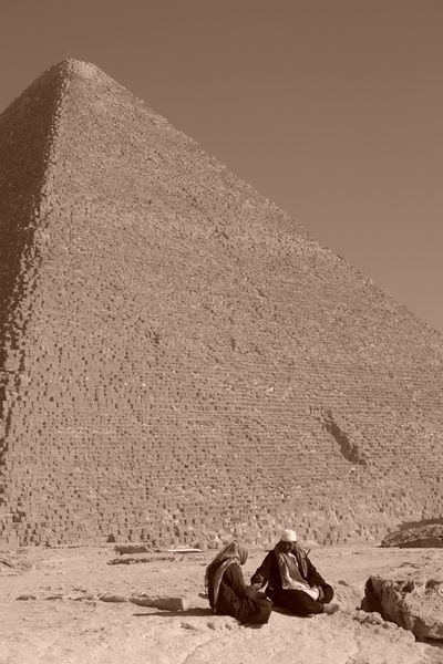 Gran Pirámide de Keops keops, en el interior de la gran pirámide - 2474576402 290fe058dd o - Keops, en el interior de la Gran Pirámide