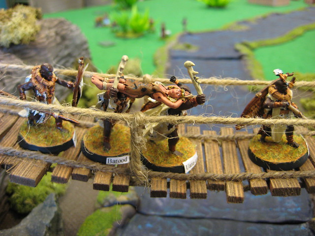Cannibals on the Rope Bridge