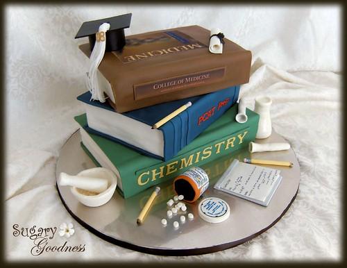 Pin Chemistry Graduation Cap Decorations Cake on Pinterest