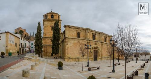 Iglesia de la Inmaculada Concepción, Castillo de los Duques de Alburquerque - Huelma (Jaén)