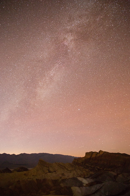 Milky Way from Zabriskie Point, Death Valley National Park 02