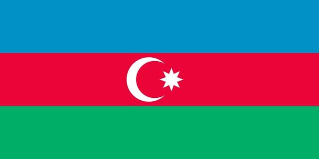 Azerbaijan Flag Rgb
