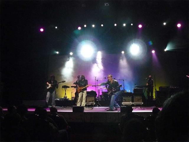 Nacha Pop en el Teatro Arriaga de Bilbao, el 24 de Octubre de 2007.