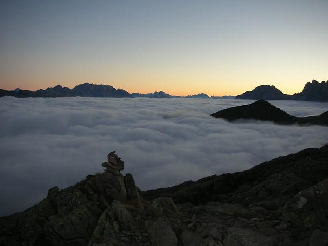 Mare di nuvole, Nikon S2