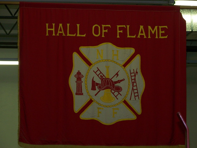 Hall of Flame banner