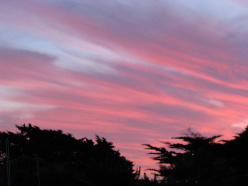new sunset newzealand clouds january zealand nz 2008 onlocation waitarere twlilight kiwifrenzy