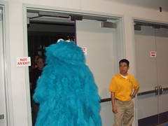 Cookie Monster is Leaving The Building