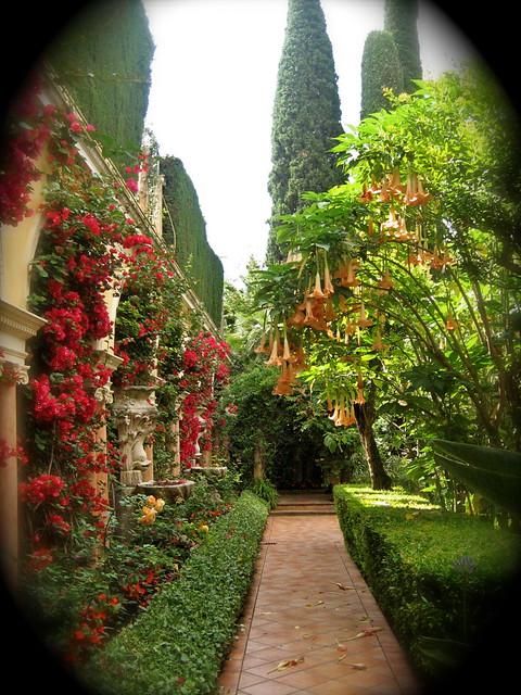 Spanish Garden Flickr Photo Sharing