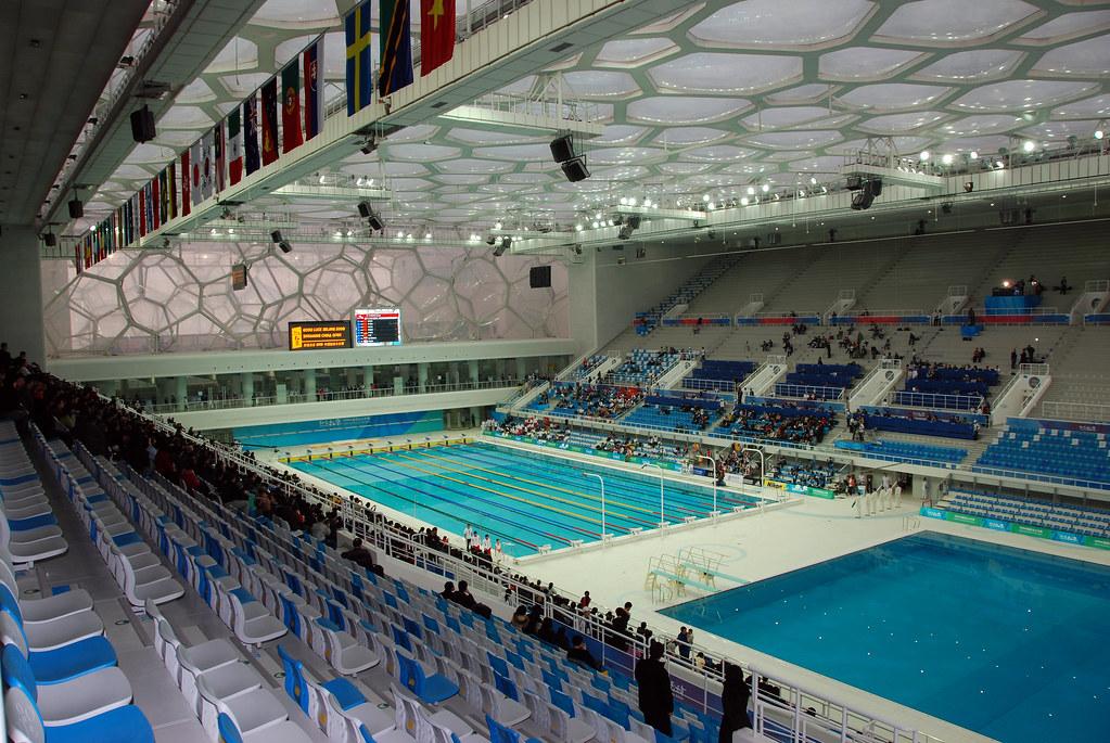 Watercube Test Event (pool 26)