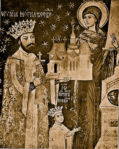 Sucevita Monastery interior Prince Ieremia Movila